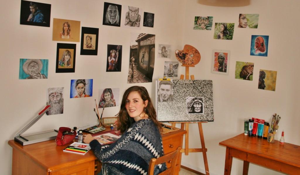 Photo de l'atelier des dessins-elise.fr