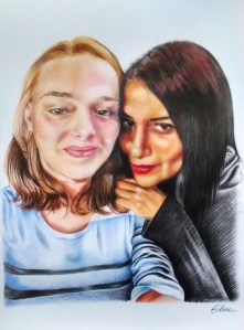 portrait-dessin-d-après-photo-famille
