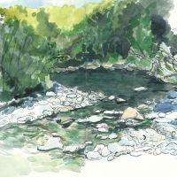La rivière, souvenirs picturaux