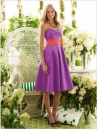 Orange And Purple Bridesmaid Dresses | Wedding Ideas