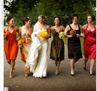 Autumn Wedding Colours to inspire you
