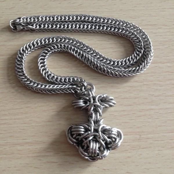 Mjolnir Pendant by Destai