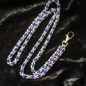 Byzantine Chainmaille Lanyard by Destai
