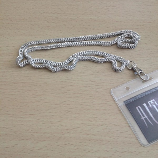 Chainmaille Lanyard by Destai