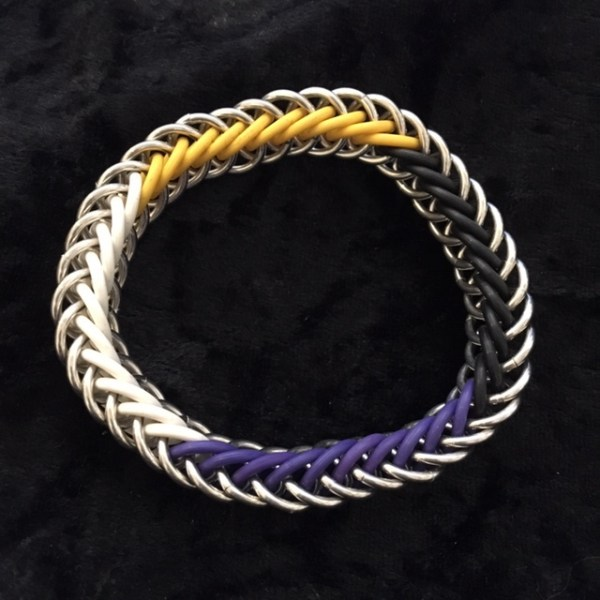 Nonbinary Pride Bracelet by Destai