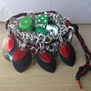 Chainmaille Dice Bag by Destai