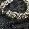 Kinged Byzantine Chainmaille Bracelet by Destai
