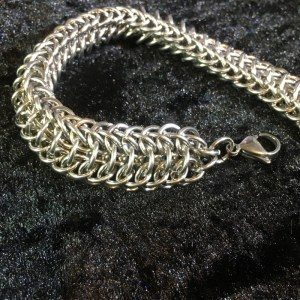 Dragonback Chainmaille Bracelet by Destai