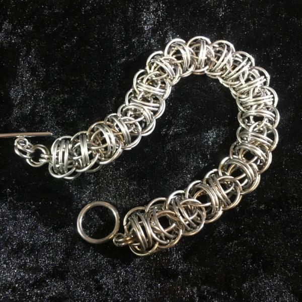 Firewyrm Chainmaille Bracelet by Destai