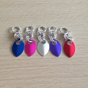 Chainmaille Stitch Markers by Destai