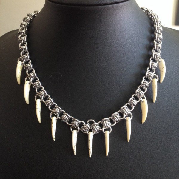 Chainmaille Necklace by Destai