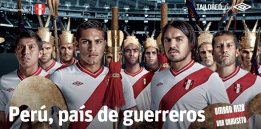 Perú, País de Guerreros Umbro