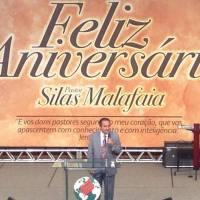Noite de gratidão marca o aniversário do Pastor Silas Malafaia