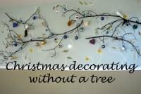 Christmas Decorating without a Tree | destashio