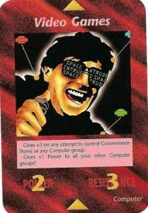 Carta del gioco di carte degli illuminati