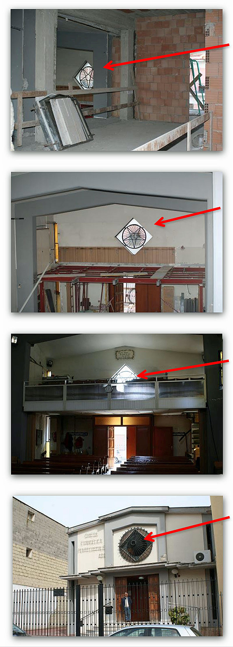 Simbolo-Massonico-nella-Chiesa-ADI-di-Frattamaggiore-