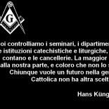 Le parole del massone Hans Küng confermano l'infiltrazione e l'influenza della Massoneria nella Chiesa Cattolica Romana