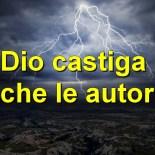 Dio castiga anche le autorità