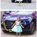 Una costosissima Maserati per la sua bambina!
