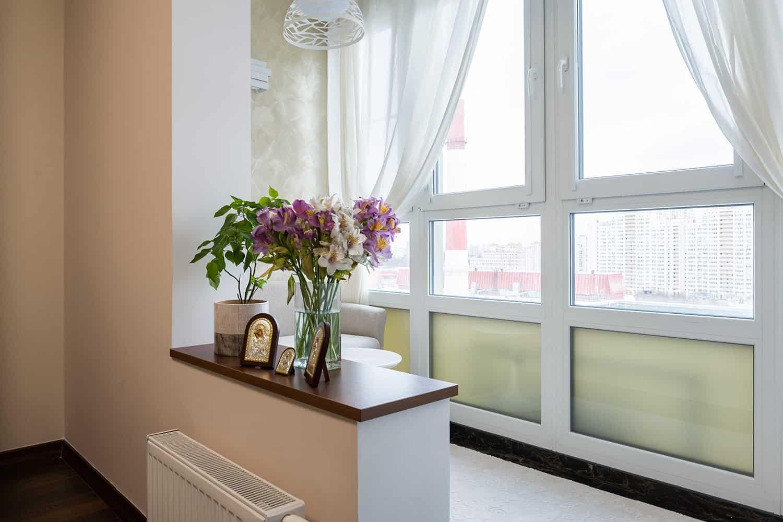 PVC balkonas 1