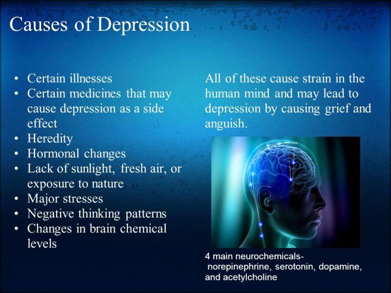 Cauzele depresiei