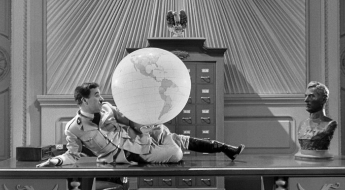 Charlie Chaplin, The Great Dictator