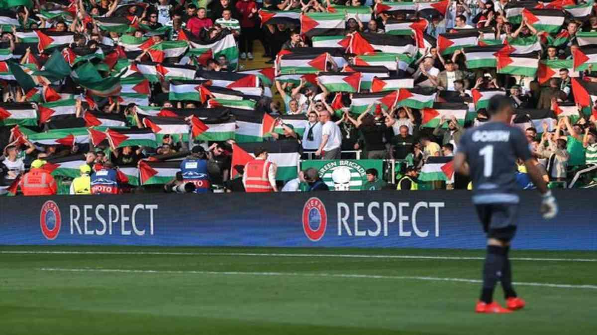 Solidariteit verboden: UEFA klaagt Celtic F.C. aan om Palestijnse vlaggen