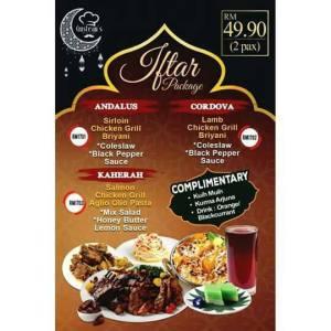 Ramadhan Buffet 2017 di Gusteau's Cafe