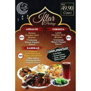 Ramadhan Buffet 2017 di Gusteau's Cafe