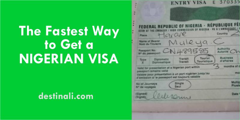 Fastest Way to Get a Nigerian Visa