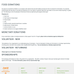 Food for Thought Volunteer