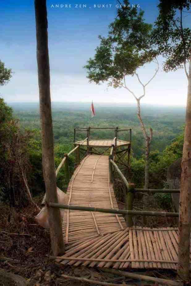 Bukit Gebang, Spot Foto Instagramable