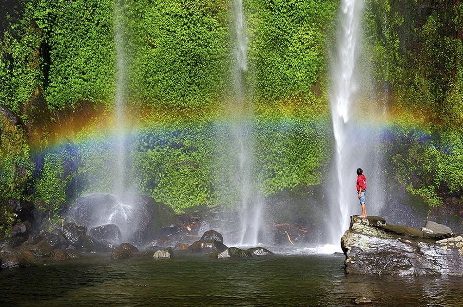 Objek Wisata Pagaralam : Air Terjun Curup Embun