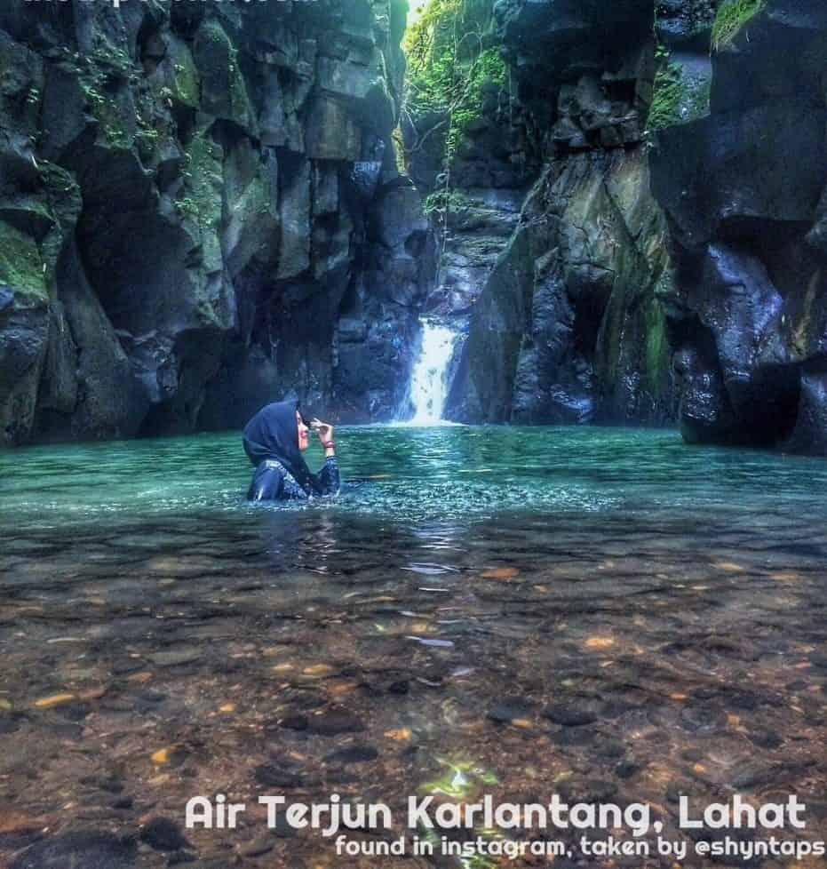 Wisata Air Terjun Sumatera Selatan