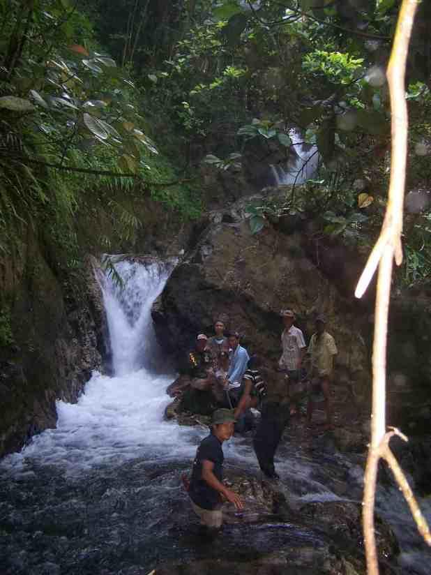 Wisata Air Terjun Sumatera Selatan yang angker