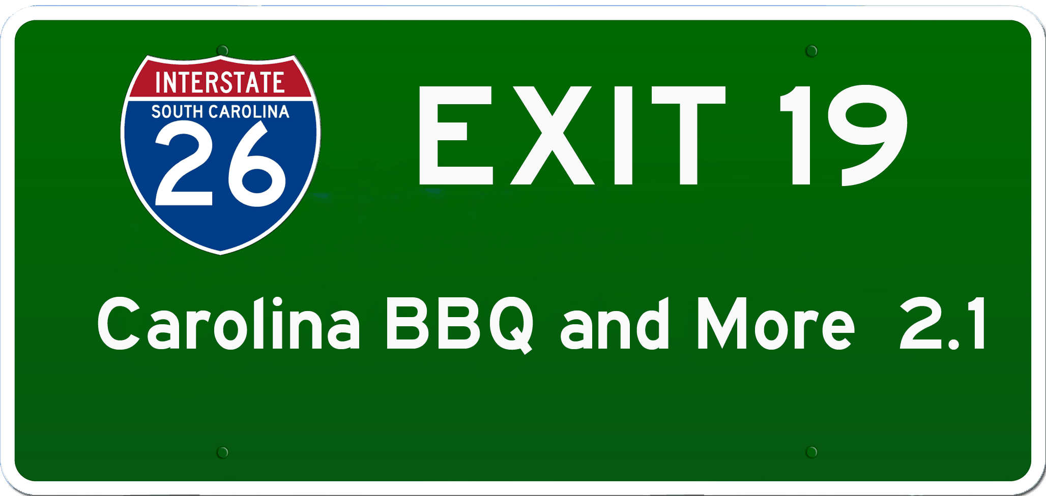SC BBQ on I-26 at Exit 19