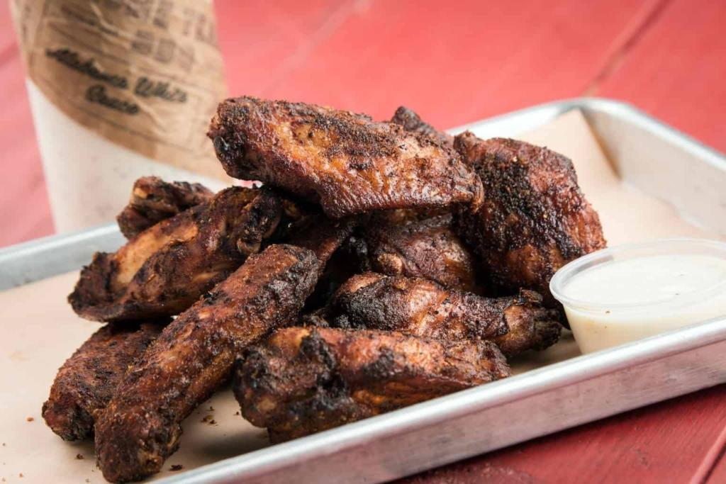 Aaron Siegel Home Team BBQ Smoked Chicken Wings