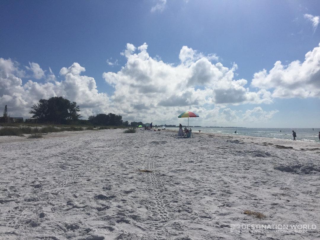 Strand von Anna Maria Island in Florida, Road tripp