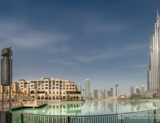 Soukh al Bahar und Burj Khalifa