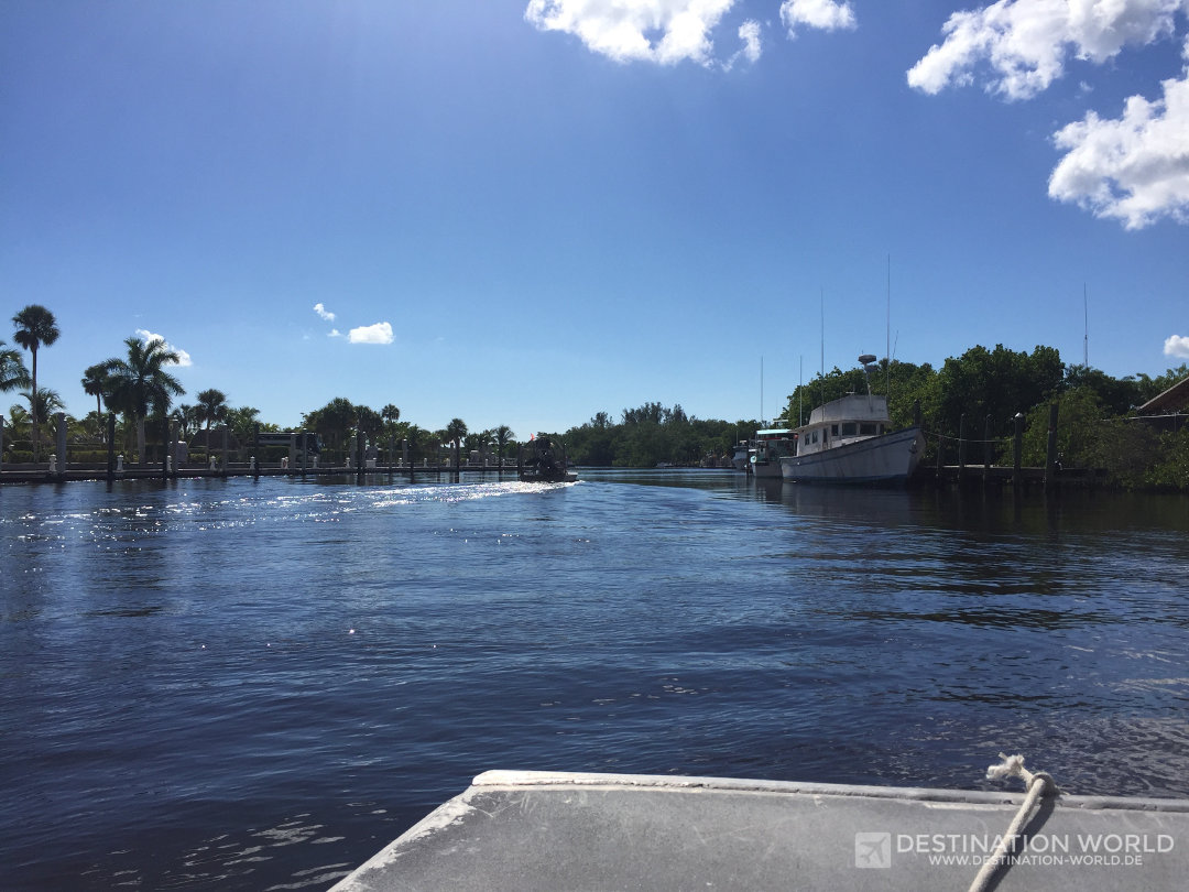 Airboattour durch die Everglades
