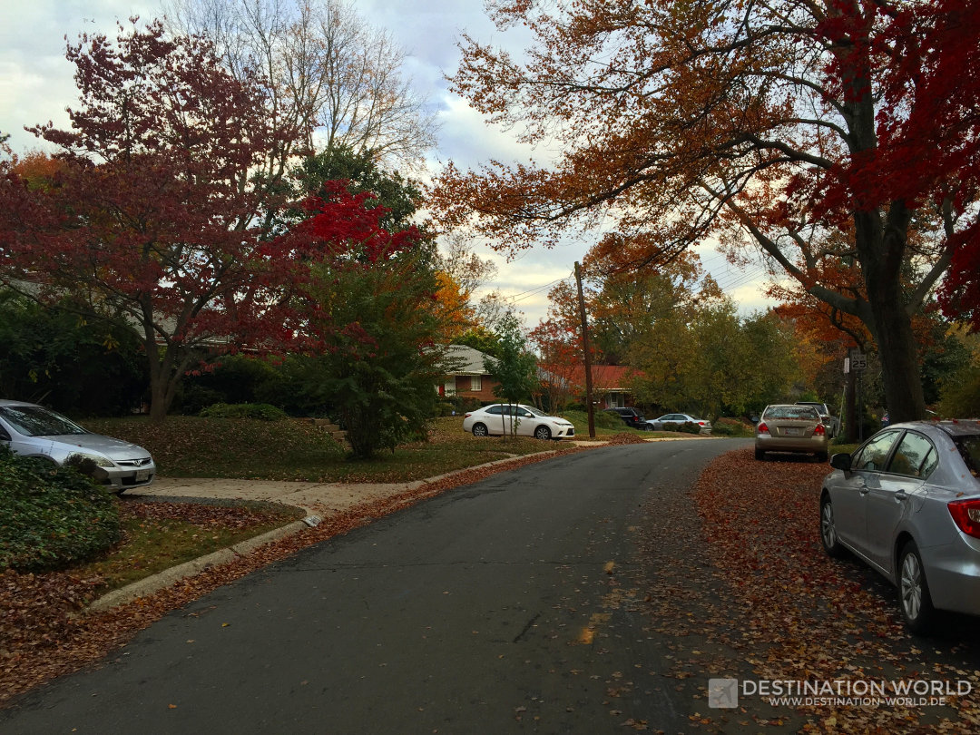 Bethesda mit tollen Farben im Herbst