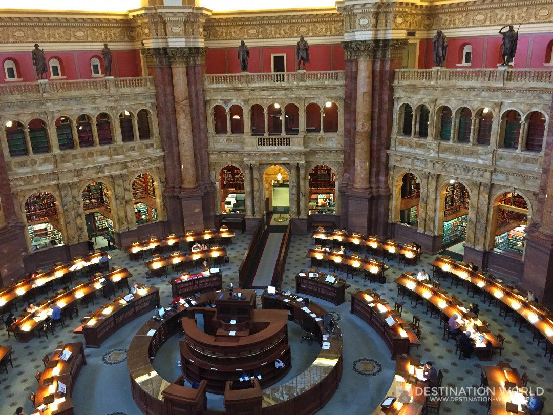 Die Library of Congress ist weiterhin in Benutzung