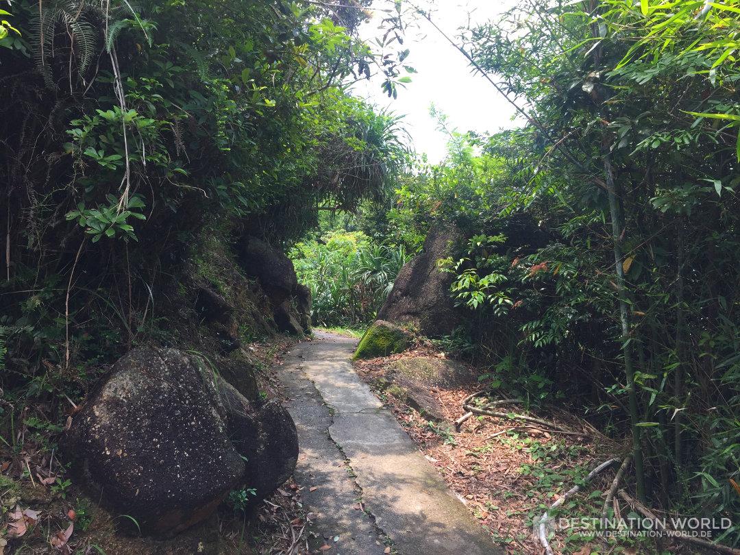 Der Fussweg von Sok Kwu Wan nach Yung Shue Wan