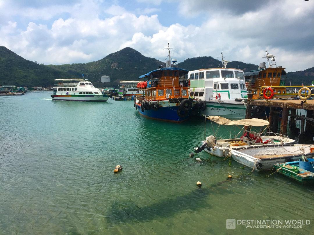 Der Fischerhafen von Sok Kwu Wan