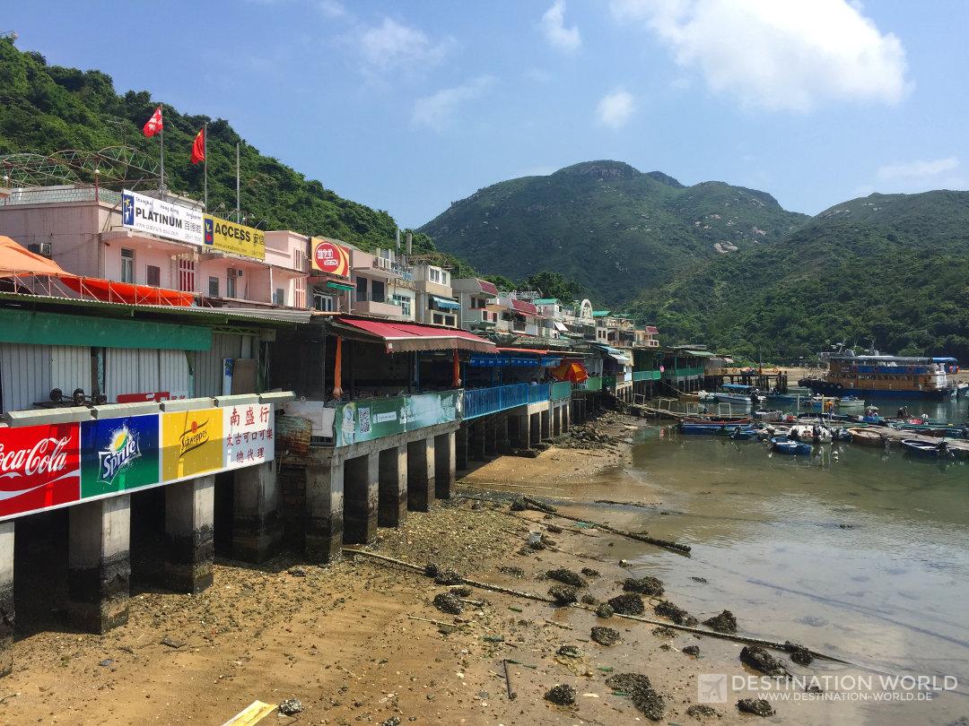 Seafood Restaurants in der Bucht von Sok Kwu Wan