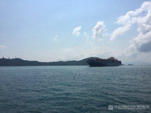 Auf der Fähre vom Central Pier nach Sok Kwu Wan Ferry Pier