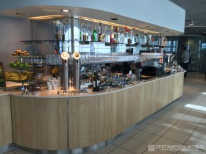Die Lufthansa Business Lounge am Hamburg Airport