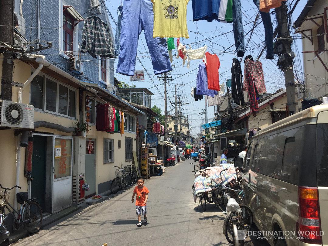 In der Altstadt von Shanghai bekommt ihr einen Eindruck vom klassischen China