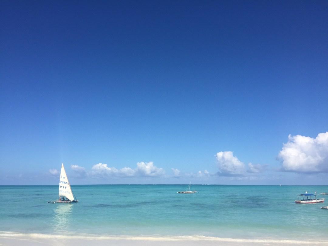 Sansibar, Boot zum Schnorcheln