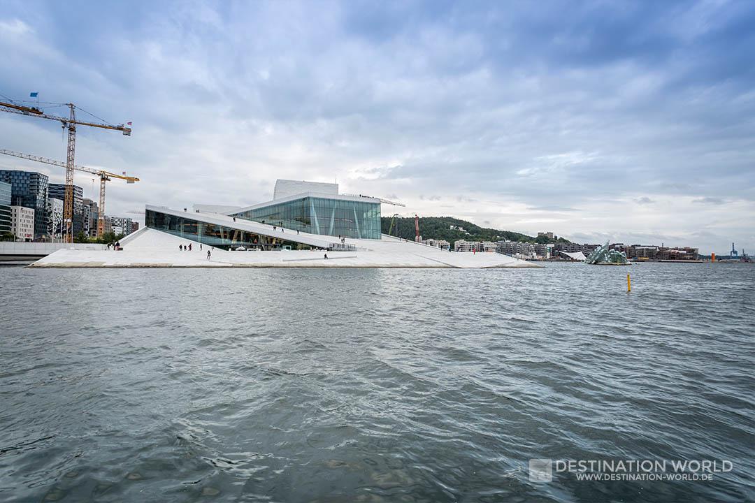 Oslo Oper von weitem